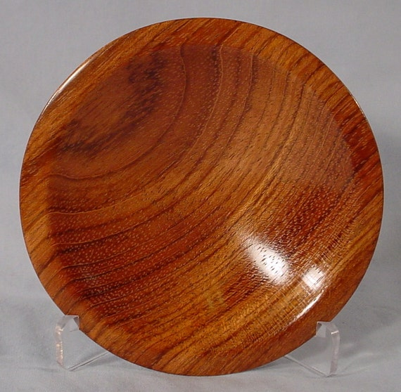 Jatoba Ring or Coin Dish Turned Wood Bowl number 4436 by Bryan Tyler Nelson