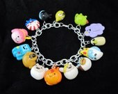Custom Choose Your Characters Adventure Time Charm Bracelet 14 Charms