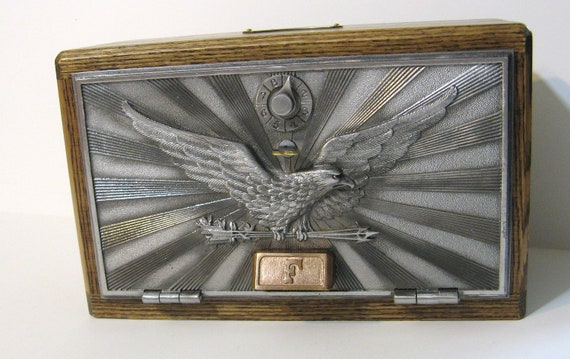Post Office Box Door 1943 Bank / Safe