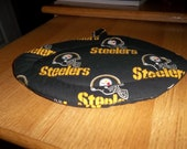 Pittsburgh Steelers Quilted Hot Pad Quilted Pot Holder NFL Football Shaped Fabric Pot Holder Hot Pad Double Insulated Trivet