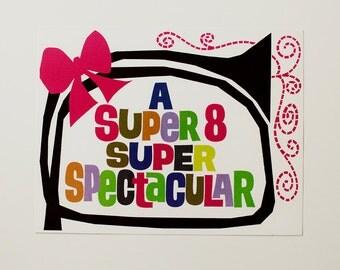 Retro Super 8 poster