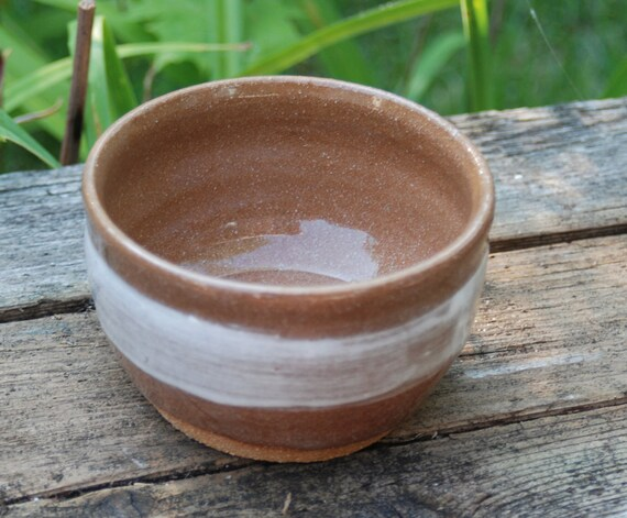 HANDMADE ceramic brown planter great for indoor or outdoor use  B67