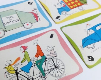 Vintage GO GO GO Card Game