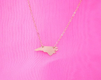 Super Petite--Tiny NC Necklace NO HEART gold filled