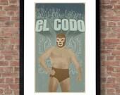 El Codo Poster Print