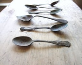 Antique Spoons Collection for Home or Wedding Decor - VintageScraps