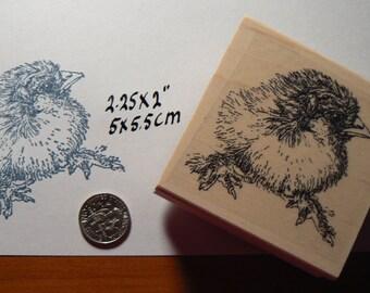 Baby Chicken rubber stamp Chick WM P27