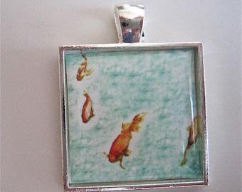 Fish Pendant - Museum Fish Pendant - Edinburgh Pendant