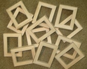 ACEO PICTURE FRAMES (12) Unfinished  in 2.5 x 3.5 size