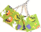 Funky Halloween Gift Tags - Set of 5 Tags