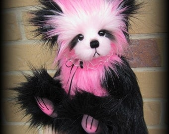 LILLY artist teddy bear Kit - 12IN finished bear - Includes FREE Pattern