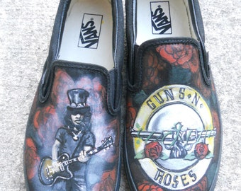 Custom Handpainted Shoes