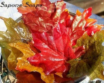 Fall Leaves Soap Petals - 30 Count