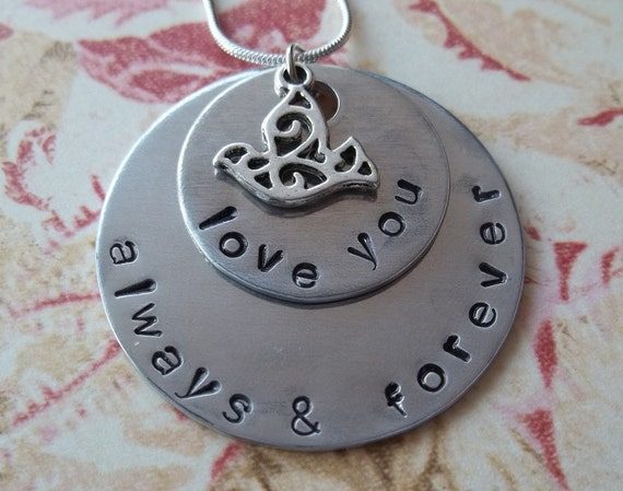 Love You Always & Forever Necklace
