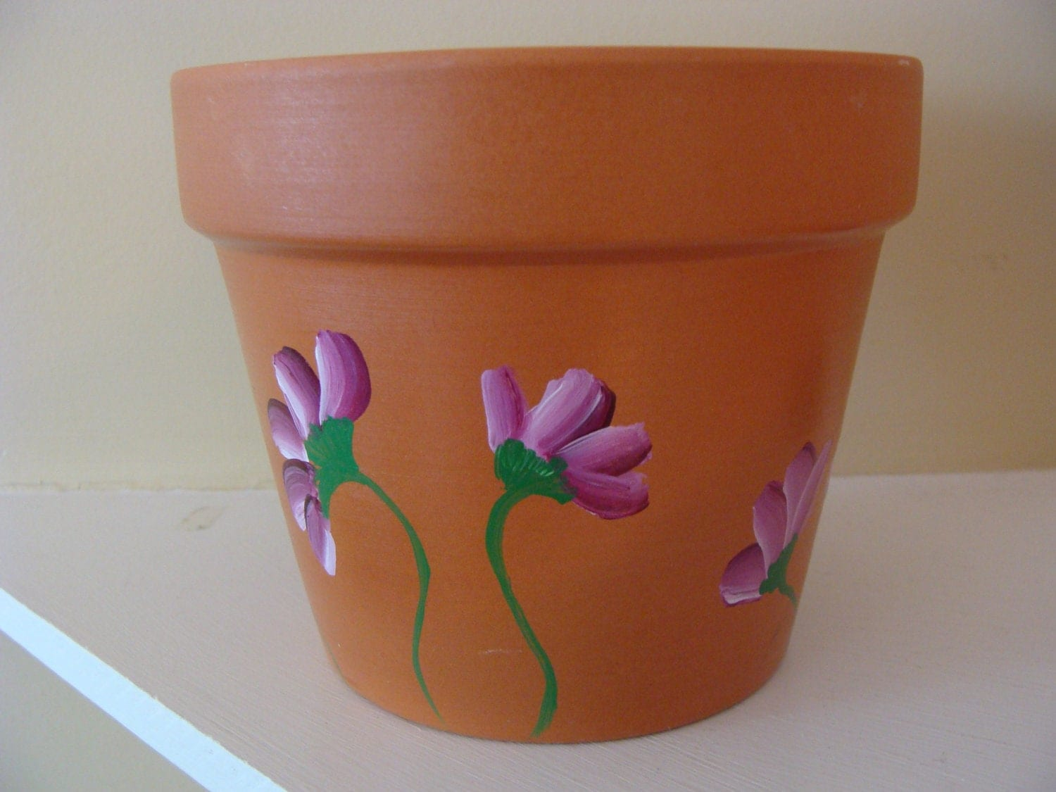 Pics for clay pot design painting for Clay mural designs