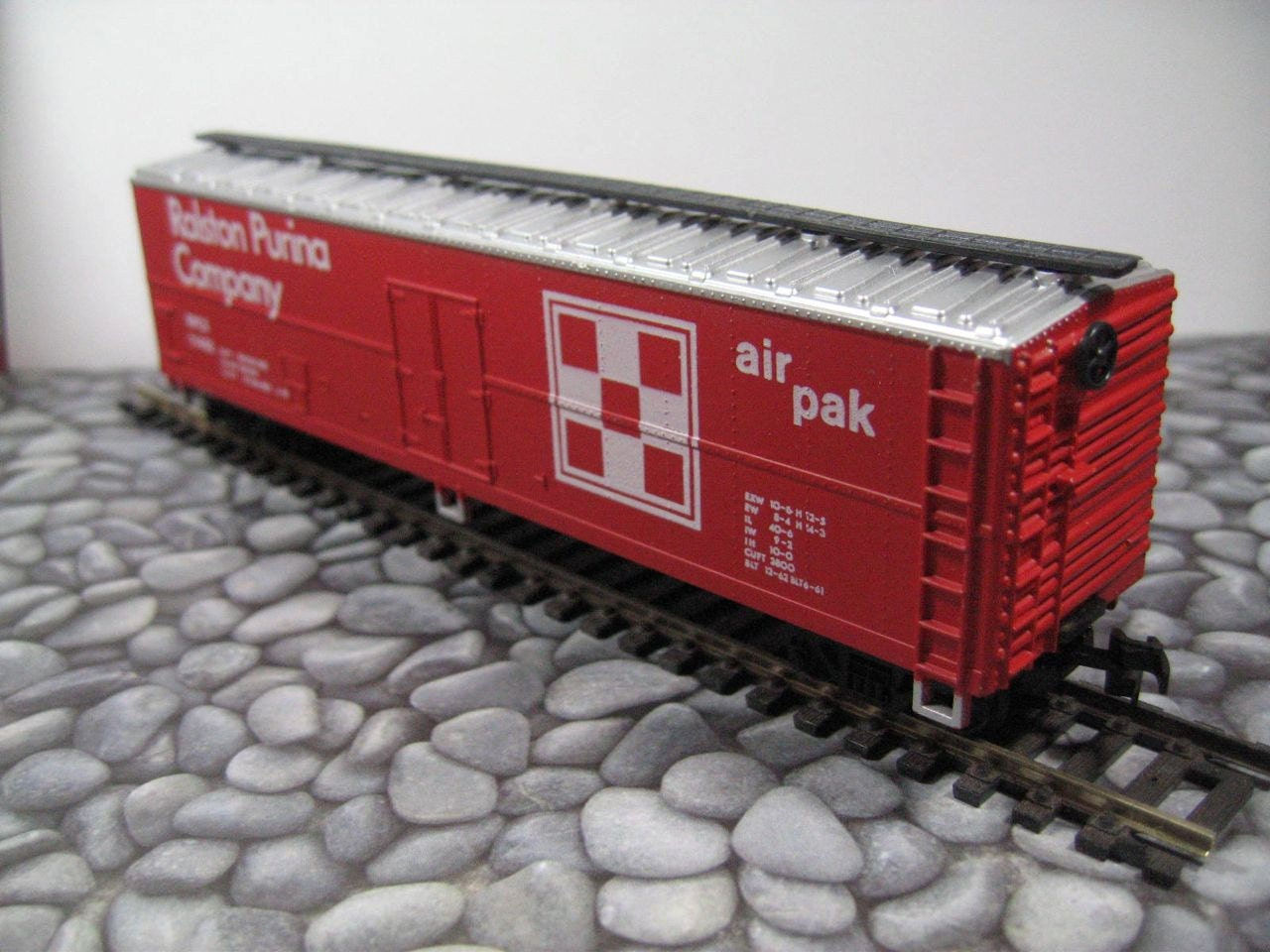 Man Cave Store Norcross : Ralston purina air pak foot box car by thevintageshop