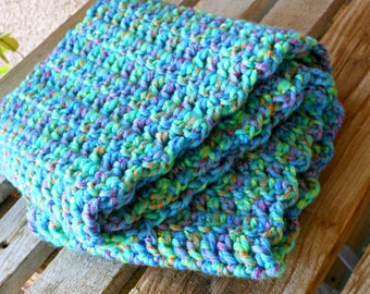 Hungry, Hungry Caterpillar - Handmade crocheted scarf