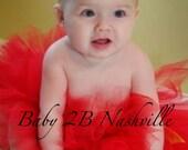 Red Baby Tutu