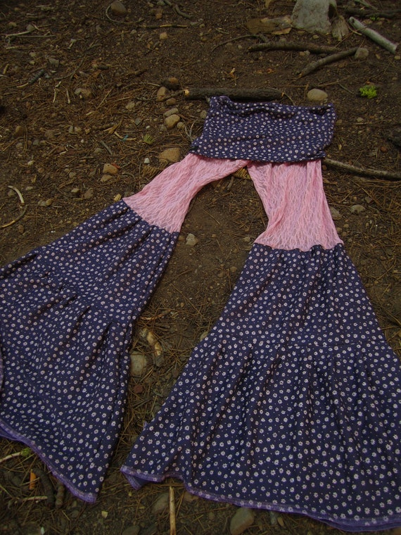 SALE Dance Pants purple and pink Petite or Xs