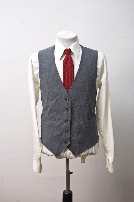 Size 44 Grey Vintage Vest