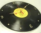 "ROLLING STONES Vinyl Record Clock - ""Exile on Main Street"" (1972)"