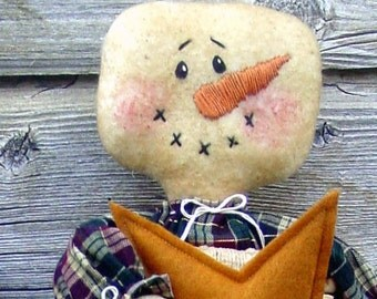 CF216 Stocking Babies 2 - PDF ePattern Cloth Doll Pattern Snowman Gingerbread