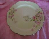 Vintage Virginia Rose 1936 Homer Loughlin Lunchean Plate