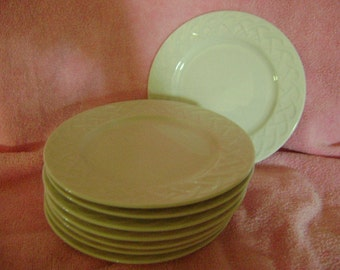 8 Bread and Butter Plates