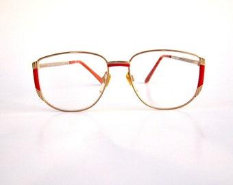 Rimless Glasses Hakim : 90s round eyeglasses Etsy