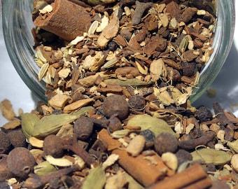 Chai Tea - Traditional Recipe, Loose Leaf Tea, Herbal Tea, Warming Tea, Chai Tea, Spicy, Hostess Gift, Tea Gift