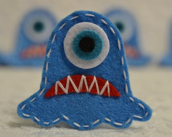 Set of 6pcs handmade Monster--anti blue (FT964)