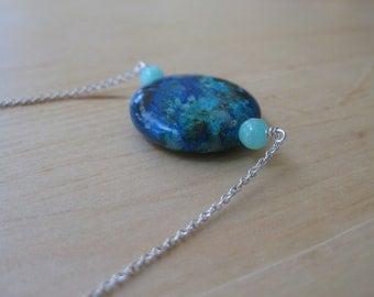 Insouciant Studios Earth Ocean Necklace