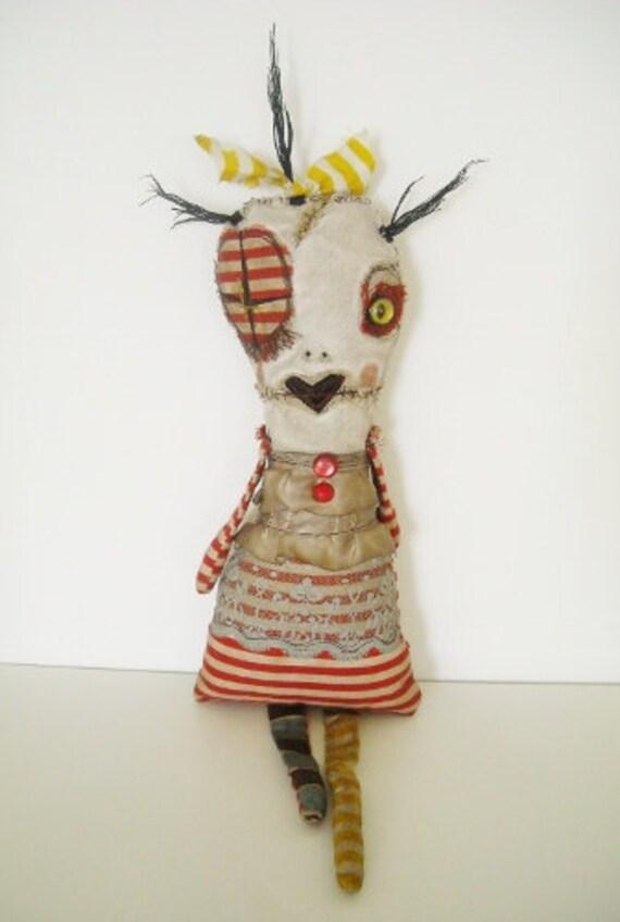 Handmade Art Doll (Monster Tartetta)