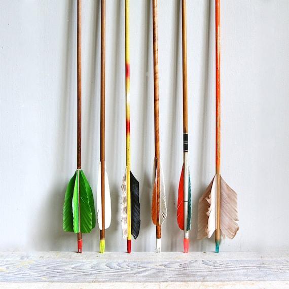 NEW COLORS //  Vintage Wooden Arrow