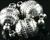 Free Shipping 10 Sets Silver Plated Round Magnetic Clasps for necklace&bracelet round clasps10mm A559