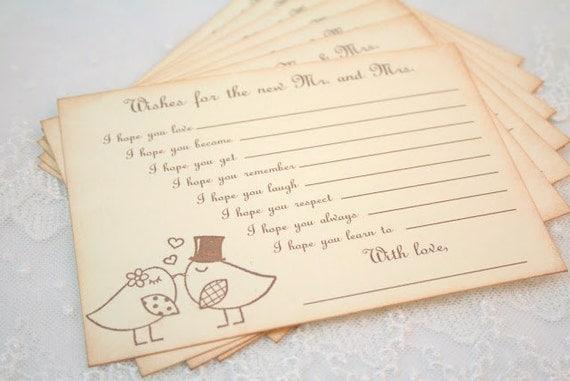 Wedding Wish Cards Guest Book Wedding Guest Book Alternatives Wedding Wish Cards Guest Book Wedding Guest Book Alternatives
