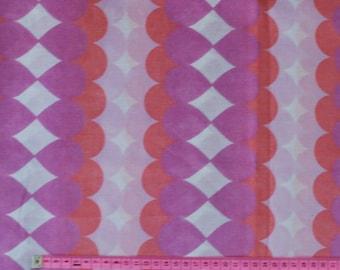 Seventies vintage fabric - 110x75 cm.