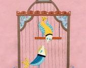 I Am Telling You Now Bird Print 8.5 x 11