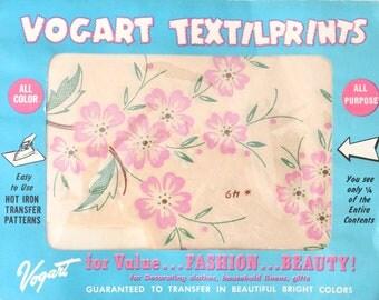 Vintage Vogart Hot Iron Transfer Pattern TextilPrints