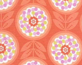 Erin McMorris Red Lollies Sewing Fabric By the Yard, 1 yard
