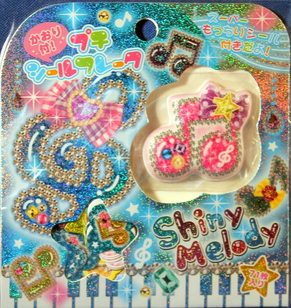 Kawaii Kamio Japan Shiny Melody Sticker Sack