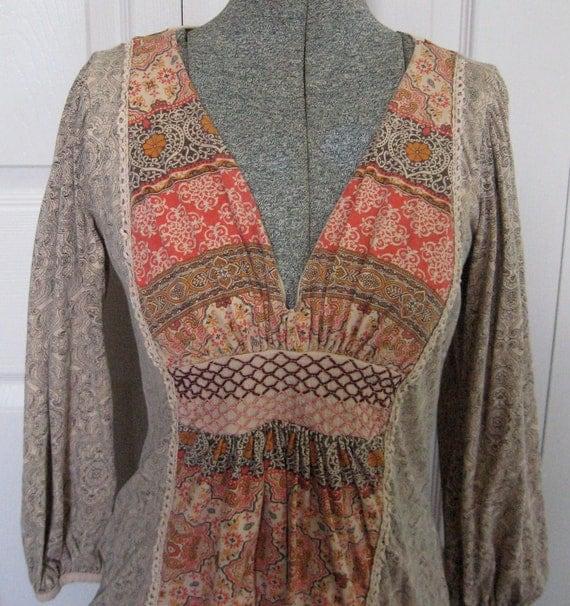 Vintage NIRVANA SHIRT 1890s reserved for Kat