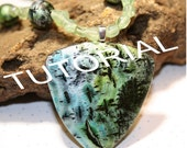 Polymer clay tutorial - Create a Faux Raku Look using POLYMER Clay