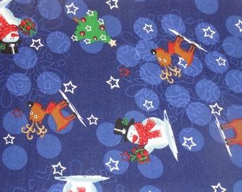 Reindeer and Snowmen Pillowcase