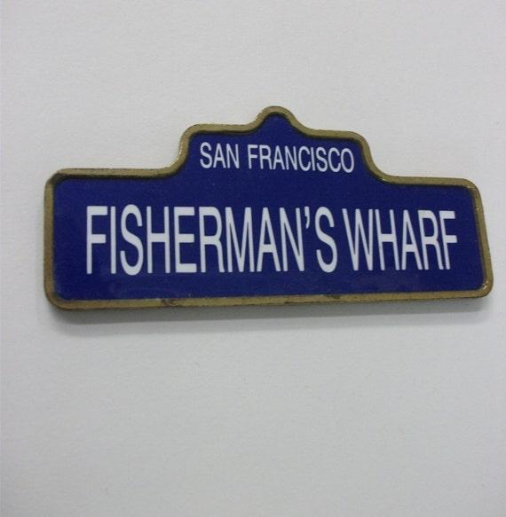 90s Vintage San Francisco Souvenir Magnet