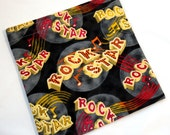 Reusable Sandwich Bag - 1 bag in Michael Miller Rock Star