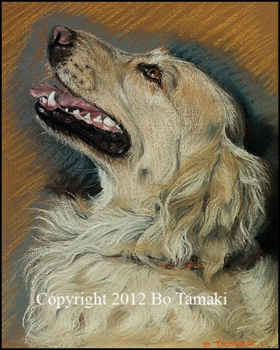 Original 11x14 matted Pastel Pet Portrait (dogs, cats, horses,etc.)