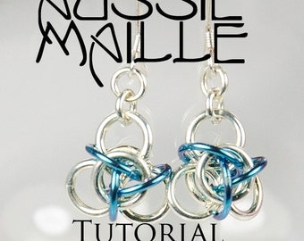 Chainmaille Tutorial - Tao3 Earrings