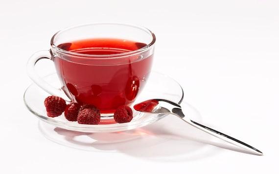 Tea Teabags 25 Black Raspberry hand blended black tea in tea bags