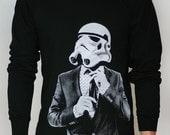 Smart Trooper - Mens / Unisex Long Sleeve ( Star Wars long sleeve Stormtrooper )